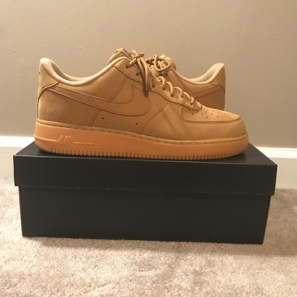 best loved 2462d b31c6 Nike Air Force one low flax/wheat